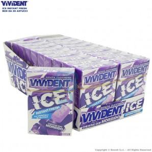 VIVIDENT ICE INSTANT FRESH GRAPE SENZA ZUCCHERO E CON CRISTALLI DI XILITOLO - BOX DA 20 ASTUCCI 33,21€