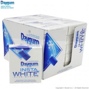 DAYGUM INSTA WHITE CHEWINGUM SENZA ZUCCHERO - SORRISO BIANCO IN UN ISTANTE | BOX 20 ASTUCCI 33,67€