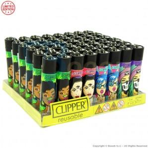 ACCENDINI CLIPPER EXPLICIT GIRLZ PREMIUM LIMITED EDITION | BOX DA 48 PEZZI LARGE E RICARICABILI 45,99€