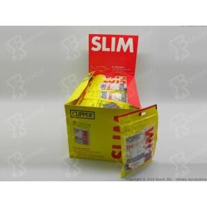 CLIPPER FILTRI SPUGNA LISCI SLIM 6MM - 1 BUSTINA DA 120 FILTRI + 50 CARTINE SILVER OMAGGIO 0,75€