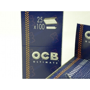 OCB CARTINE ULTIMATE CORTE DOPPIE - BOX DA 25 LIBRETTI 12,79 €