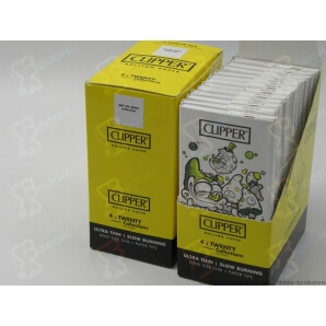 CLIPPER CARTINE LUNGHE KSS + FILTRI IN CARTA PREMIUM ART OF SOOL - BOX DA 12 LIBRETTI 18,99€