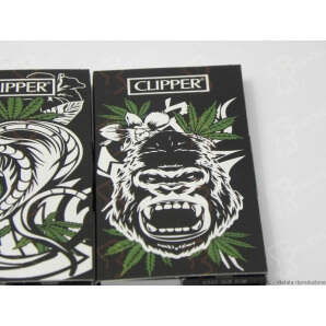 CLIPPER CARTINE LUNGHE KSS + FILTRI CARTA PREMIUM JUNGLE WEED - BOX DA 12 LIBRETTI 18,99 €