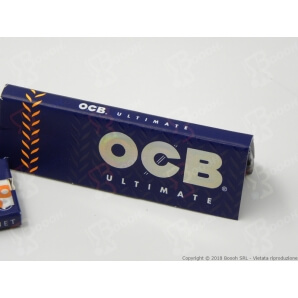 OCB CARTINE ULTIMATE CORTE SINGOLE - 1 LIBRETTO DA 50 CARTINE 0,39 €