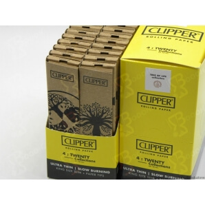CLIPPER CARTINE LUNGHE KSS + FILTRI CARTA SIMPLE PURE TREE LIFE - 4 LIBRETTI SFUSI 8,19 €