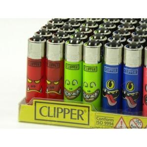 CLIPPER ACCENDINI MICRO MONSTER MOUTH - BOX DA 48 ACCENDINI A PIETRINA CON SISTEMA DI PRESSATURA DEL TABACCO 28,75€