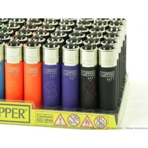 CLIPPER LARGE TRASLUCIDO - BOX DA 48 ACCENDINI 25,99€
