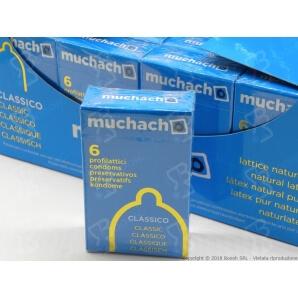 PRESERVATIVI MUCHACHO CLASSICI - ASTUCCIO DA 6 PROFILATTICI 1,78€