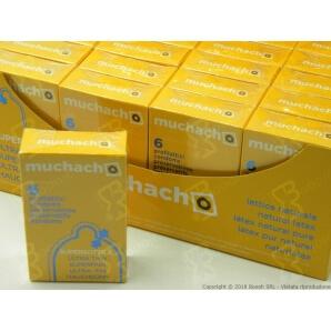 PRESERVATIVI ULTRA SOTTILI MUCHACHO | ASTUCCIO DA 6 PROFILATTICI EXTRA THIN 3,90€