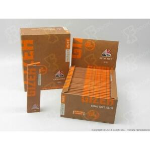 GIZEH CARTINE PURE LUNGHE SLIM EXTRA FINE KING SIZE - 1 LIBRETTO DA 33 CARTINE 0,49€