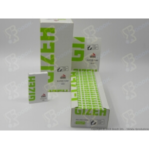 GIZEH CARTINE CORTE DOPPIE SUPERFINE LIBRETTO MAGNETICO VERDE - 1 LIBRETTO DA 100 CARTINE 0,74 €