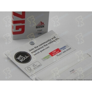 GIZEH CARTINE CORTE DOPPIE SUPERFINE LIBRETTO MAGNETICO ROSSO - 1 LIBRETTO DA 100 CARTINE 0,74€