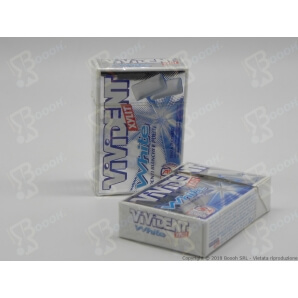 GOMME DA MASTICARE VIVIDENT XYLIT WHITE PEPPERMINT CHEWING GUM - ASTUCCI SFUSI 1,69 €