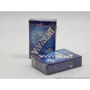 VIVIDENT ICE CUBE MINT BLU CHEWING GUM - ASTUCCI SFUSI 1,69€