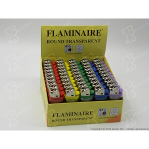 FLAMINAIRE ACCENDINO TRASPARENTE A PIETRINA - 1 ACCENDINO 0,19€
