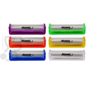 ATOMIC ROLLATORE IN PLASTICA RIGIDA PER CARTINE 110MM KING SIZE - 1 PEZZO 2,44 €