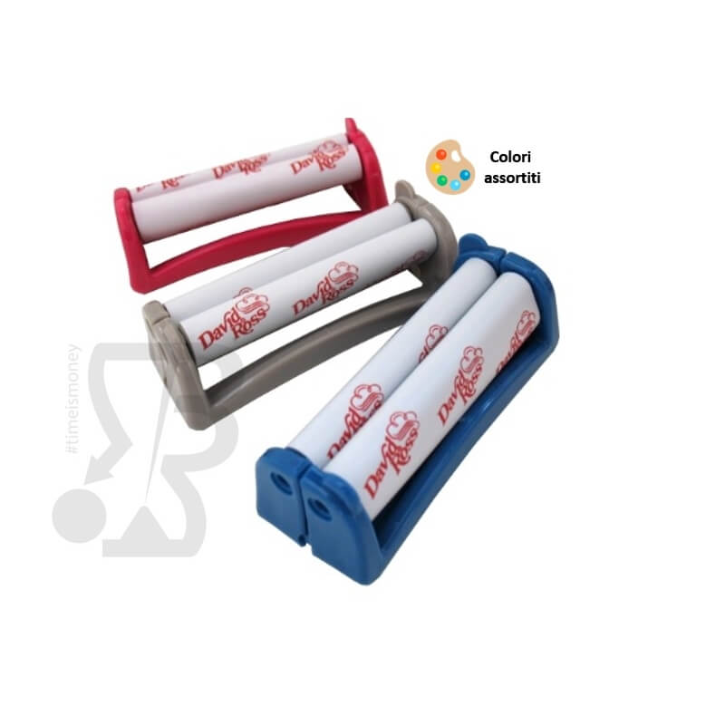 DAVID ROSS ROLLATORE DI CARTINE CORTE IN PLASTICA MULTICOLOR - 1 PEZZO 2,49 €