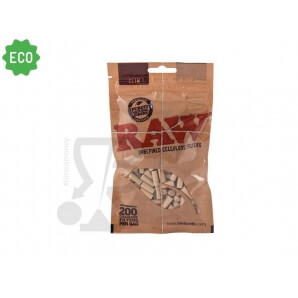 RAW FILTRI SLIM 6MM PURA CELLULOSA TIPO SPUGNA - 1 BUSTA 1,55 €