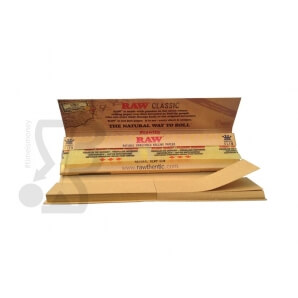RAW CONNOISSEUR CARTINE LUNGHE KING SIZE SLIM - 1 LIBRETTO DA 32 CARTINE E 32 FILTRI DI CARTA 1,14 €