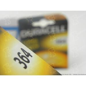DURACELL 364 OSSIDO DI ARGENTO 1,5V - BLISTER DA 1 BATTERIA 1,69€