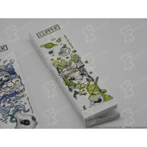 CLIPPER CARTINE LUNGHE KSS + FILTRI CARTA FANTASIA SIMPLE ART OF SOOL KSS - 4 LIBRETTI SFUSI 5,99€