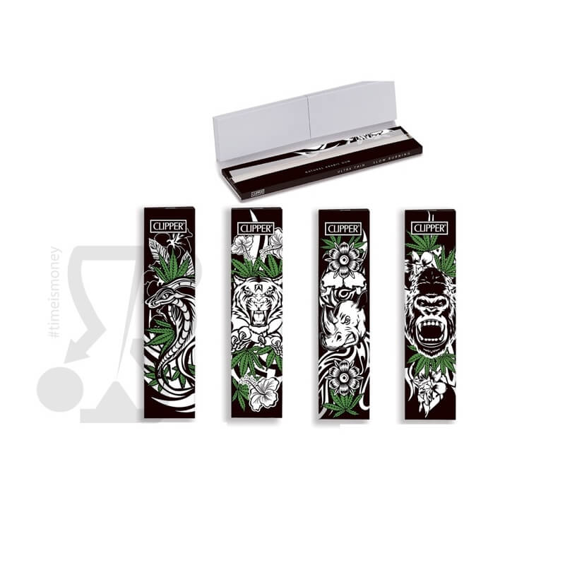 CLIPPER CARTINE+FILTRI SIMPLE JUNGLE WEED KSS - 4 LIBRETTI SFUSI 4,59 €