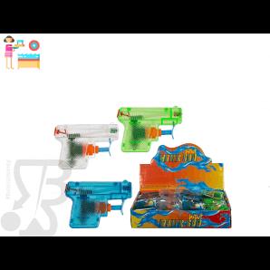 IDEA REGALO BIMBI PISTOLA AD ACQUA IN PLASTICA TASCABILE FORMATO MINI 7 cm 0,99€