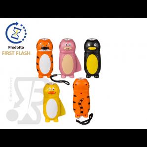 TORCIA IN PLASTICA A DINAMO PER BAMBINI E RAGAZZI, FORMA DI ANIMALI 12,23€