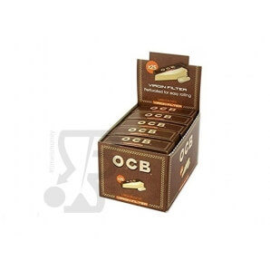 FILTRI IN CARTA OCB EASY VIRGIN BROWN - BOX DA 25 BLOCCHETTI 6,29 €