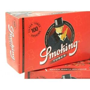 SMOKING TUBETTI SIGARETTE VUOTE - CONFEZIONE DA 100 TUBETTI 0,99€