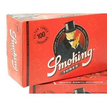 SMOKING TUBETTI SIGARETTE VUOTE - CONFEZIONE DA 100 TUBETTI