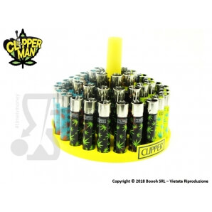 CLIPPER LARGE WEED LEAVES MULTICOLOR - BOX 48 ACCENDINI 28,99 €