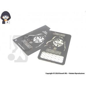 GRINDER CARD ANONYMUS HACKER TRITATABACCO - FORMATO TESSERA METALLICA ULTRASOTTILE 4,39€