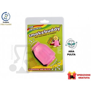 ORIGINAL SMOKEBUDDY PINK - FILTRO ARIA MANGIA FUMO E MANGIA ODORI 24,99€