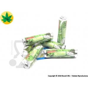 CARAMELLE DOLCI IN PURA CANAPA CANNABIS GUSTO MENTA - 1 STICK 1,29€
