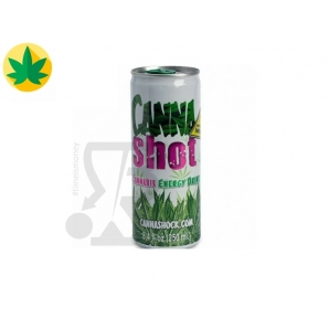 CANNASHOT ENERGY DRINK BIBITA AROMA CANNABIS NO THC - LATTINA 250ml 1,99 €