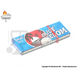CARTINE ENJOY FREEDOM CORTE SINGOLE EUROPA BLU - 1 LIBRETTO 0,25 €