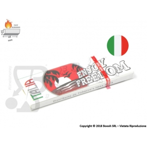 CARTINE ENJOY FREEDOM CORTE SINGOLE ITALIA - 1 LIBRETTO 0,25 €