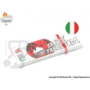 CARTINE ENJOY FREEDOM CORTE SINGOLE ITALIA - 1 LIBRETTO 0,25€