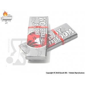 CARTINE ENJOY FREEDOM SILVER CORTE - 1 LIBRETTO 0,25 €