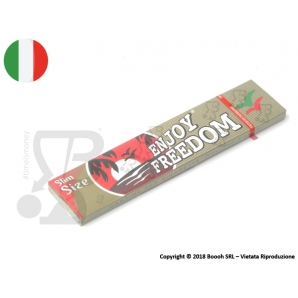 CARTINE ENJOY FREEDOM LUNGHE KING SIZE SLIM - 1 LIBRETTO 0,50 €