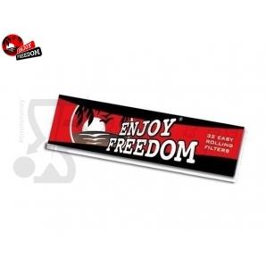FILTRI IN CARTA ENJOY FREEDOM - 1 BLOCCHETTO DA 16 FOGLIETTI 0,22€
