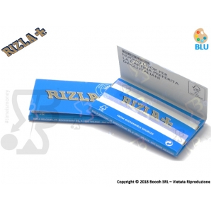 CARTINE RIZLA DOPPIE BLU CORTE DOUBLE - LIBRETTO 0,69 €