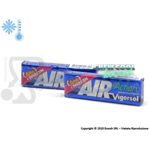 AIR ACTION VIGORSOL ORIGINAL GOMME DA MASTICARE CHEWING GUM SENZA ZUCCHERO - STICK SFUSI 0,99 €