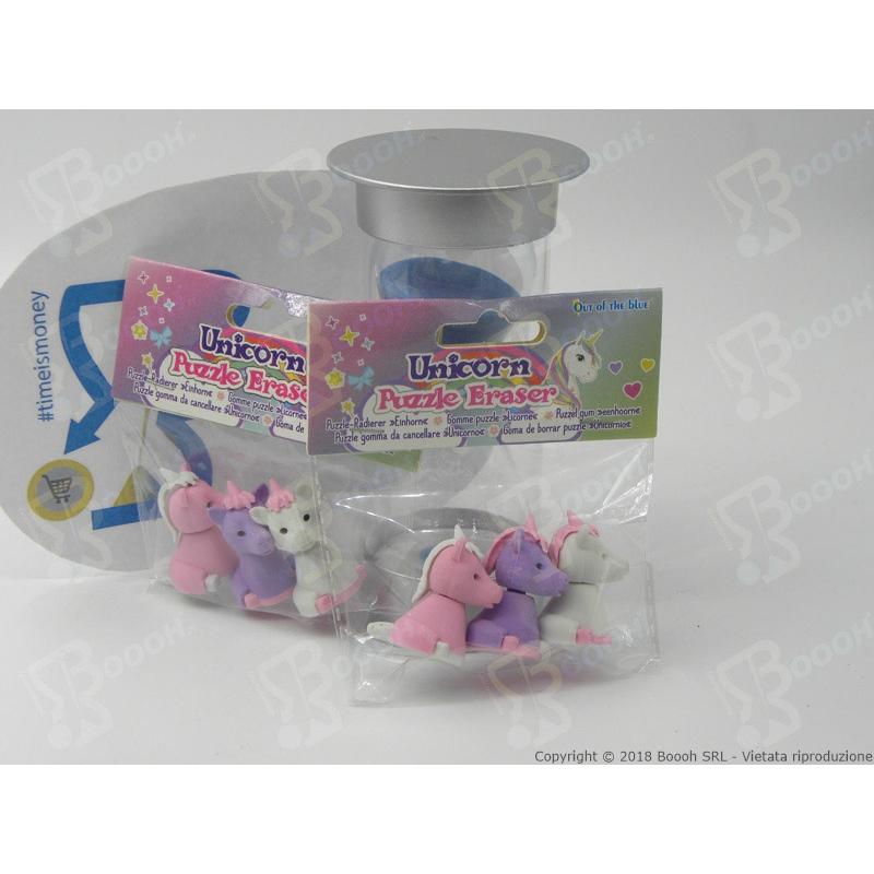 a forma di pastello 30 gomme da cancellare per bambini