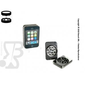 GRINDER A FORMA DI SMARTPHONE- TRITATABACCO METALLICO 2 PARTI, MISURA 5,5 cm 4,99€