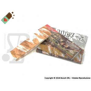 CARTINE CORTE JUICY JAY'S SINGOLE 1¼ AROMA CIOCCOLATO - MILK CHOCOLATE - LIBRETTO SINGOLO 1,59 €