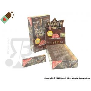 CARTINE CORTE JUICY JAY'S SINGOLE 1¼ AROMA CIOCCOLATO - MILK CHOCOLATE - BOX 24 LIBRETTI 28,99€