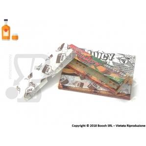 CARTINE CORTE JUICY JAY'S 1¼ AROMA JAMAICAN RUM - BOX 24 LIBRETTI 28,95€