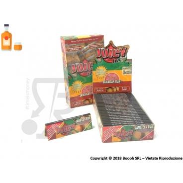 CARTINE CORTE JUICY JAY'S 1¼ AROMA JAMAICAN RUM - BOX 24 LIBRETTI